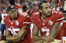 945474f44 Colin Kaepernick reaches settlement with NFL over kneeling protest case