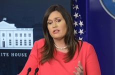 White House press secretary Sarah Huckabee Sanders interviewed by Mueller investigators