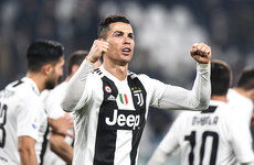 Ronaldo and Dybala on target as Juventus go 14 points clear against Frosinone