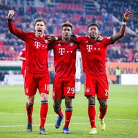 Bayern pile pressure on Dortmund in Bundesliga title race as Coman nets brace in dramatic win