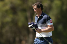 Ireland's Paul Dunne joins leader Per Langfors with Perth bye