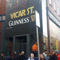 Dublin 8 locals protest Harry Crosbie's Vicar Street Hotel development
