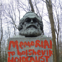 'Senseless. Stupid. Ignorant': Karl Marx memorial in London vandalised for second time this month