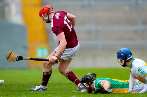 Conor Whelan bagged Galway's first-half goal.