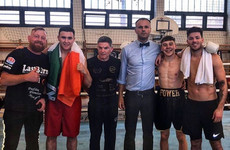 Cork 17-year-old James Power scores first-round stoppage in third pro fight