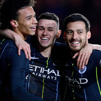 Guardiola lauds Silva's 'incredible' FA Cup performance