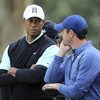 McIlroy five shots behind Justin Thomas at Genesis Open as rain halts play in California