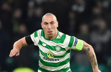 Celtic's Scott Brown scores last-minute winner before getting sent off amid wild celebrations