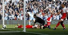 The moment that Sergio Aguero won the Premier League for Manchester City
