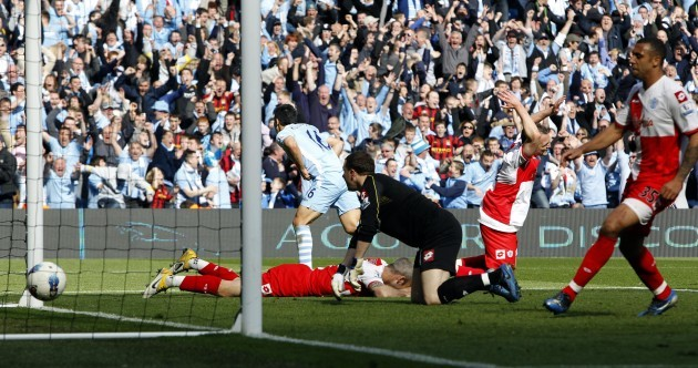 The moment that Sergio Aguero won the Premier League for Manchester City