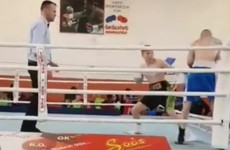 Watch Cork 17-year-old James Power score a first-round stoppage in this third pro fight