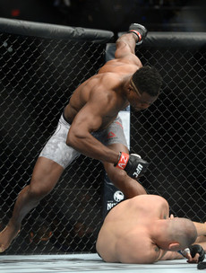 Ngannou calls out Cormier after finishing ex-champion Velasquez in 26 seconds