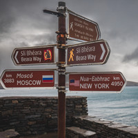 Double Take: The one-of-a-kind signpost on a tiny Cork island