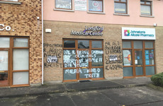 'Very disturbing': Longford GP surgery spray painted with anti-abortion graffiti overnight