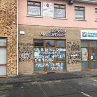 'Very disturbing': Longford GP surgery spray painted with anti-abortion graffiti overnight