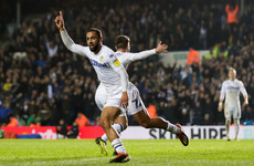 Leeds' top scorer Roofe to face 'period on the sidelines' with knee ligament injury