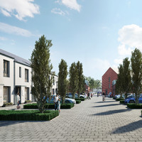 Brand new family homes in commuter-friendly Adamstown from €300k