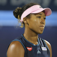 Naomi Osaka upset in first match as world number one days after splitting from coach