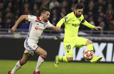 No breakthrough for Barcelona with Lyon holding La Liga leaders to goalless draw