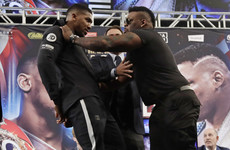 'Where's your mum? I pay her rent now': Joshua and Miller get feisty at New York presser
