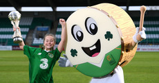 A bodhrán will be mascot for this year's Uefa U17 European Championships