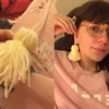 Basic Stitch: Making your own tassel earrings takes less time than ordering off AliExpress