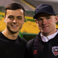 Irish prospect faces 'childhood hero' Rooney along the road less travelled