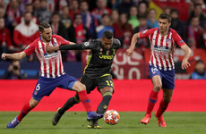 VAR denies Atletico a goal but late brace enough to get the better of Juventus