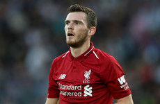 'Bayern is forgotten about for now' - Robertson focused on Liverpool title tilt