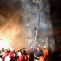 At least 70 people killed in major apartment fire in Bangladesh