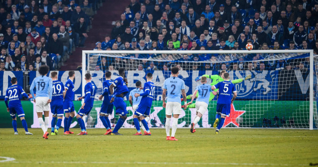 Leroy Sane 'sorry' for stunning free-kick against former club