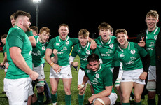 Mature Ireland U20s look to make it three from three in the Six Nations