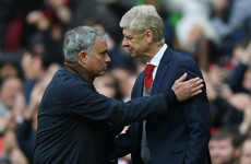 Jose Mourinho pays tribute to 'sweet enemy' Wenger