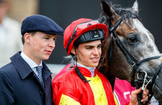 Johnny Ward: Aidan O'Brien's youngest son concentrating on riding while he can keep the weight down