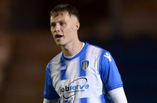 Sligo Rovers agree deal for Colchester United midfielder