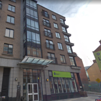 Dublin campaigners protest demolition of apartment complex and pool for MetroLink