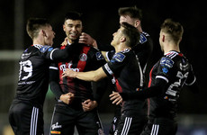 Corcoran and Mandroiu wonder-strikes maintain Bohs' winning start away to UCD