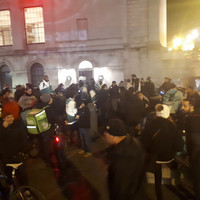 Deliveroo workers return to work after striking in Dublin over waiting times at restaurants