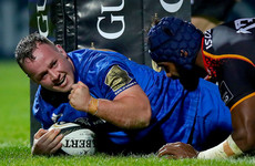Leinster run 9 past Kings to tighten stranglehold on play-off spot