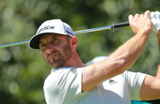 Dustin Johnson moves into the lead with McIlroy falling two shots back in Mexico