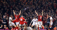Wales derail England's Grand Slam attempt and take over as Six Nations leaders