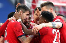 Martinez sends Bayern level at top of Bundesliga
