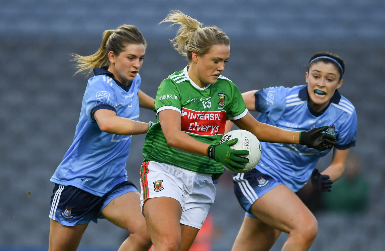 Niamh Mcevoy Bags 1 5 As Dublin Come From Behind To Beat Mayo The42