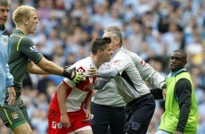 Barton charged with two counts of violent conduct