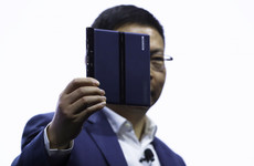 Huawei unveils new foldable 5G smartphone - it'll cost you €2,300
