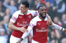Lacazette and Mkhitaryan send Gunners fourth with win over Saints