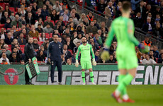 Chelsea boss Sarri humiliated as his goalkeeper refuses to be substituted in League Cup final