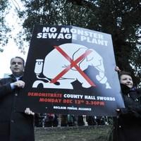 Residents vow to step up campaign against 'monster' sewage plant