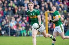 'It's great to be back contributing and to be playing with Kerry again'