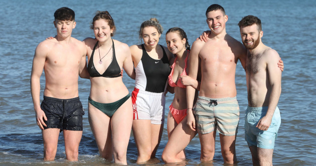 Ireland hasn't had record-breaking temperatures like the UK, but people have been enjoying the sunshine anyway